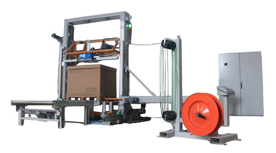 全自动打带裹膜二合一一体机设备
