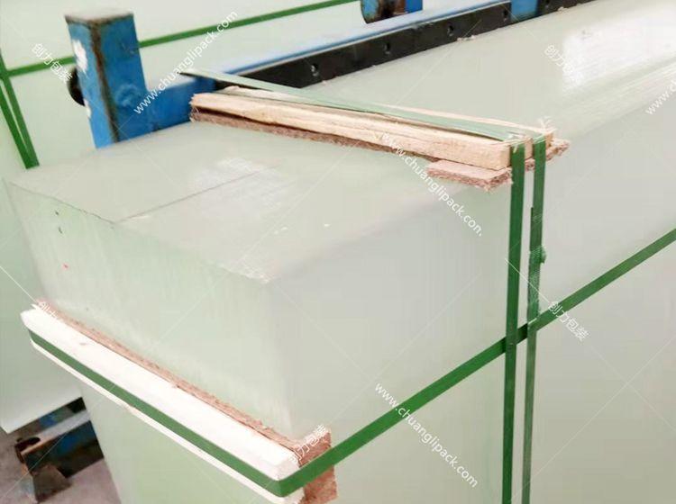 南通太阳能玻璃打包带选创力包装案例
