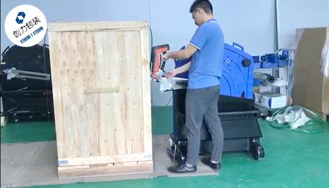 穿带打包机实现高效率与以人为本的工业包装